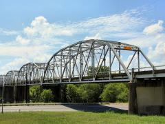 Montopolis Bridge in Austin, Texas