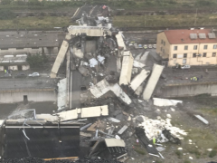 Several people reported dead after bridge collapse in Genoa, Italy