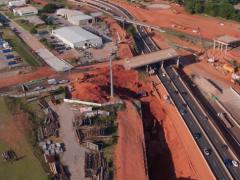 I-235 highway widening and bridge project Oklahoma City