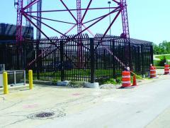 Illinois Tollway Ameristar Stalwart Impasse II fencing system