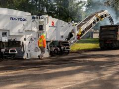 Road milling, road recycling, road maintenance