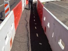 SafetyWall is an ADA-compliant longitudinal channelizer that aids all pedestrians, regardless of their required level of guidance.