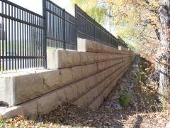gravity wall problem on Q Street