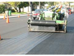 resurfacing Washington Boulevard