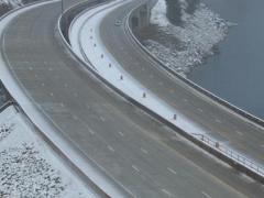 WSDOT snow bridge