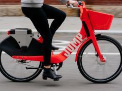 Uber JUMP bike share