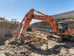 Doosan excavators