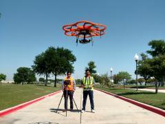 UAV-CRP technology comprised of DSLR camera