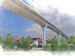 Cline Avenue Bridge East Chicago, Indiana