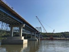 Savanna and Sabula bridge