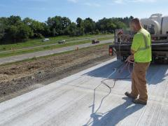 WisDOT concrete pavement research