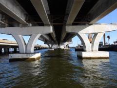Florida's Pensacola Bay signature bridge