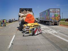 New attenuator research adjusts to heavier traffic
