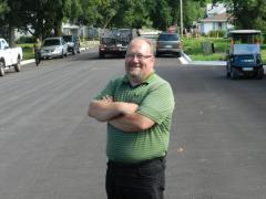 Brian Devick, mayor of Woodward, Iowa