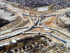The Zoo Interchange project is the largest in Wisconsin at $1.7 billion, and bears the state's most complex work zone.