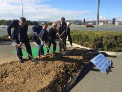 Contra Costa Transportation Authority breaks ground on I-680 express lane