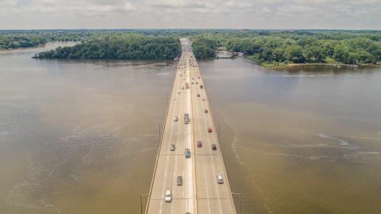 No. 10 - U.S. 50 over Severn River Bridge rehabilitation