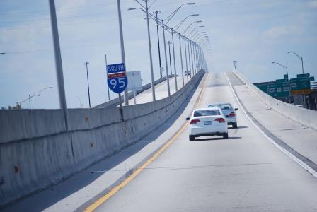 Toll lane extension on Fla. I-95