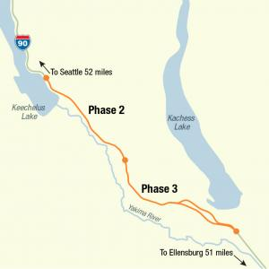 WSDOT breaks ground on next 2 miles of I-90 project
