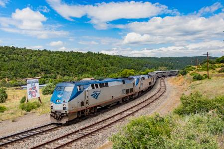 rail transit funding Amtrak Southwest Chief
