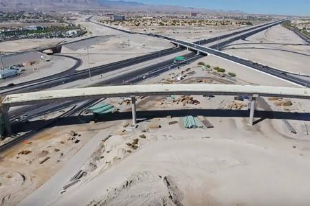Flyover bridge opening to signal first completed phase of Centennial Bowl project in Las Vegas