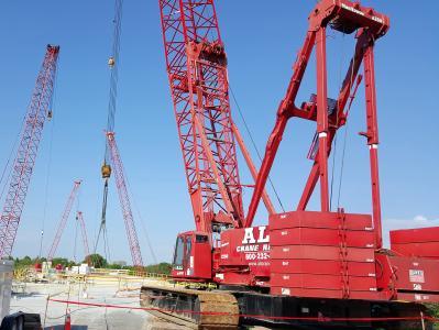ALL Cranes helped lift and set concrete segments on F.W. Cappelen Bridge