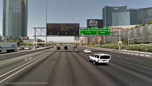 High-tech freeway signs coming to Project Neon in Nevada