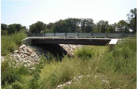 Audrain County Steel Bridge 411
