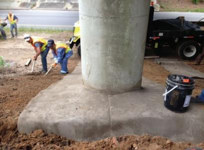 Concrete Cloth GCCM used for erosion protection