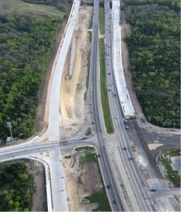 U.S. 183 South toll road project in Austin, Texas