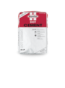 CTS Cement mix