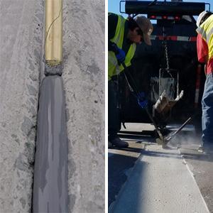 Crafco Concrete seal and repair