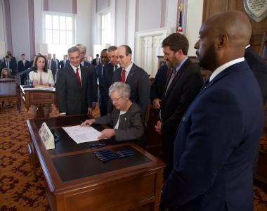 Gov. Kay Ivey; Rebuild Alabama Act; infrastructure legislation; gas tax