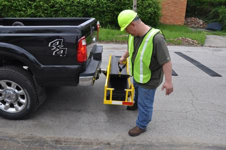 Deployment and removal is easier, faster, safer with CRIB Cargo Carrier.