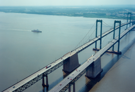 Delaware Memorial Bridge protection system