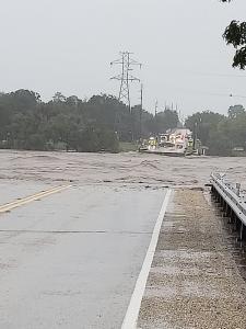 Llano River flooding washes away RM 2900 bridge