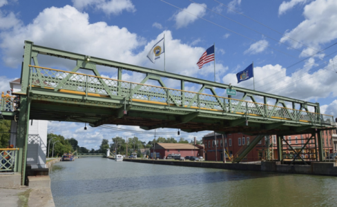 Erie Canal bridge rehabilitation Modjeski and Masters