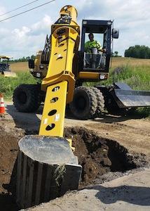 Gradall XL 4300 III excavator