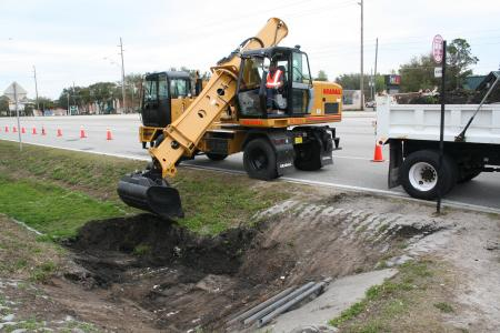 XL 3100 IV Gradall excavator