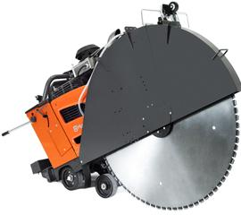 Husqvarna's FS 7000 DL is a deep-cutting flat saw compliant with Tier 4 final emission regulations