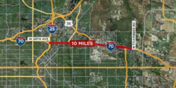 I-70 expansion in Colorado