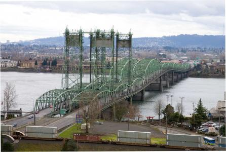 I-5 bridge over Columbia River