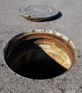 AHP manhole riser in Alabama