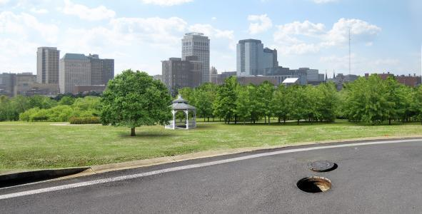 Manhole riser in Jefferson County, Ala.