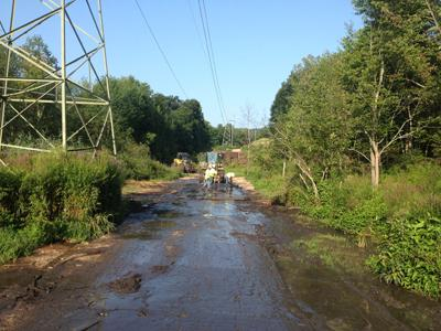 Central Hudson Gas & Electric in New York State was working on the OR, EM & PX Line Project
