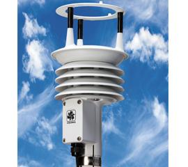 The YOUNG ResponseONE Ultrasonic Anemometer (Model 91000) accurately measures winds up to 156 mph.  Each sensor is wind-tunnel calibrated and uses ultrasonic technology with no moving parts.  Wind data is updated up to 10 times per second and made available via a variety of standard serial output formats.