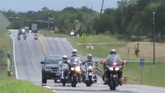 the Bikers Against Local Diabetes (BALD) Motorcycle Run