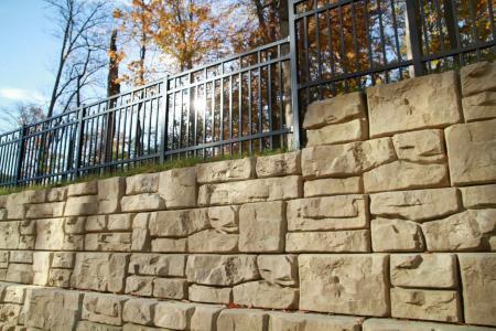 retaining-wall system