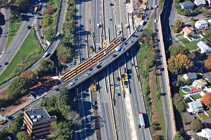 Route 17 Northbound Bridge over Interstate 80, Superstructure Replacement and Widening Project