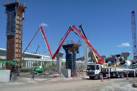 Sany America 40Z meter boom truck-mounted concrete pump | Roads